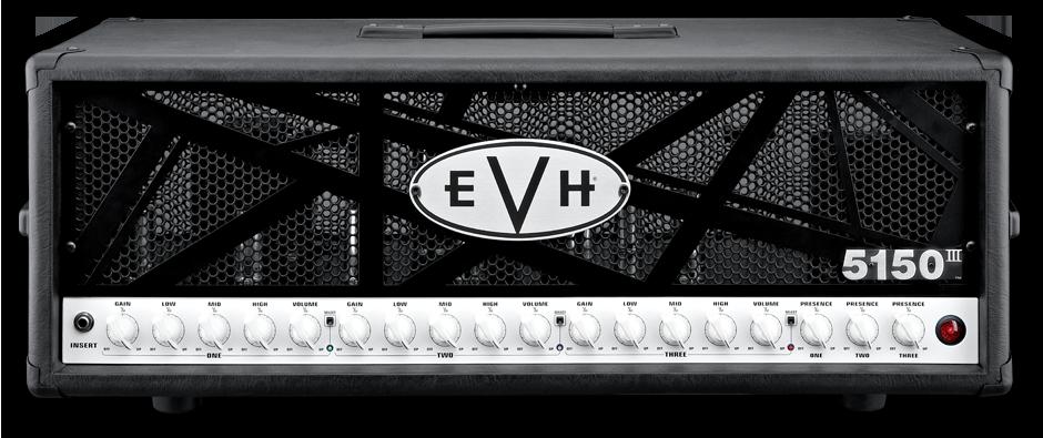 EVH 5150 III 100w head - front view