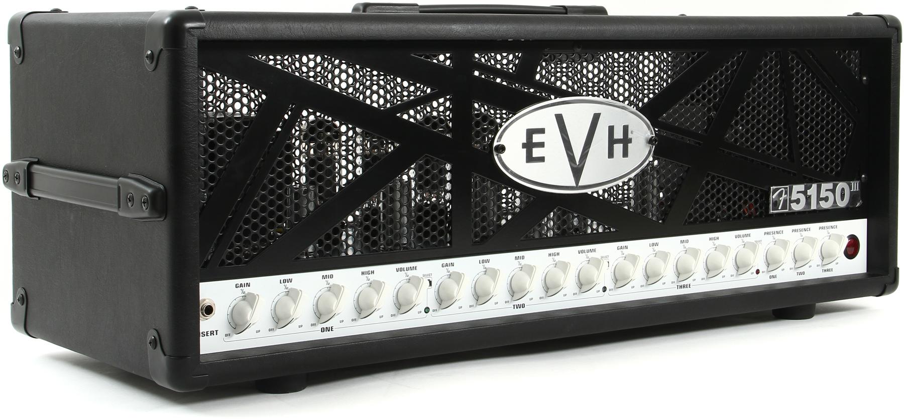 review evh 5150 iii 100w head don stick. Black Bedroom Furniture Sets. Home Design Ideas
