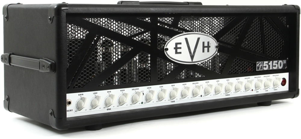 EVH 5150 III 100w head - front left view