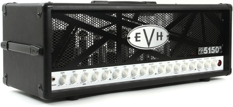 EVH 5150 III 100w head - front left view