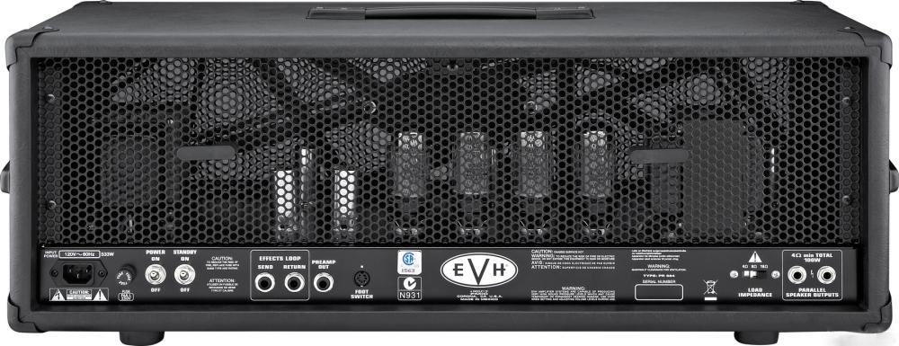 EVH 5150 III 100w head - rear view