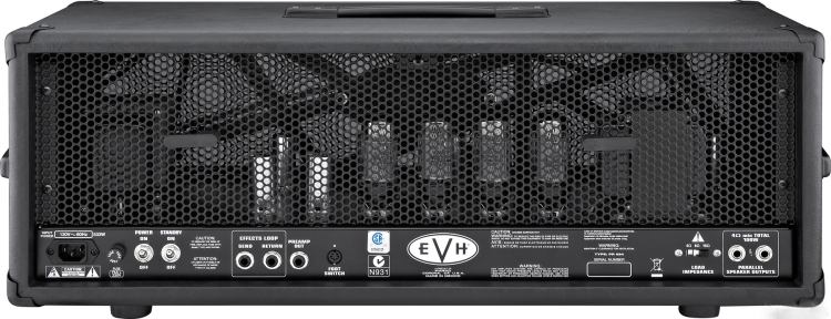 EVH 5150 III 100w head - rear view