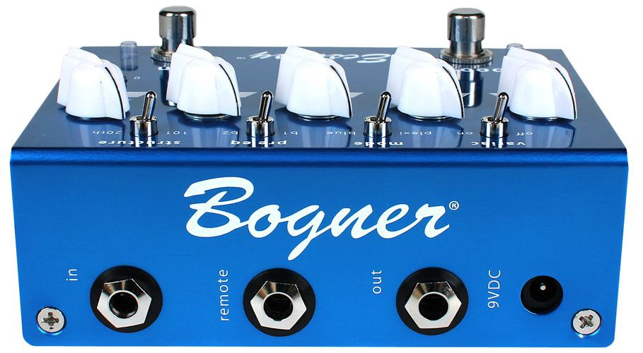 Bogner Ecstasy Blue Pedal - rear view