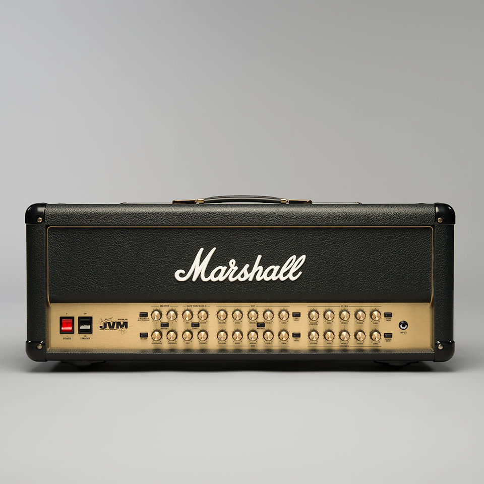 Marshall JVM410HJS Joe Satriani signature head - front