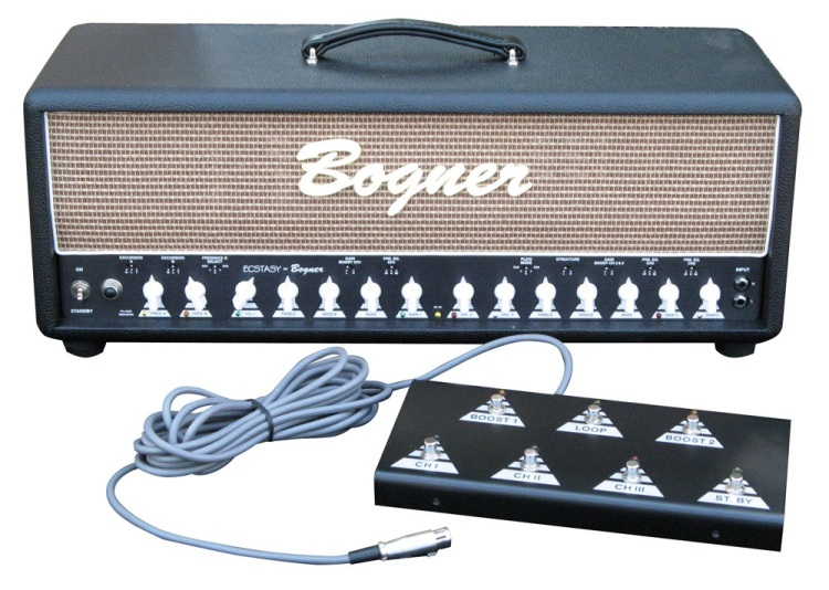 Bogner Ecstasy 101b with footswitch