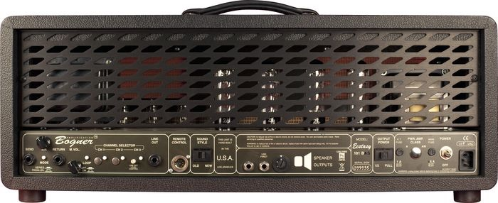 Bogner Ecstasy 101b rear panel