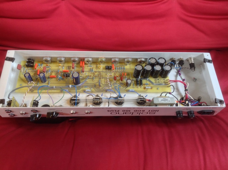 Soldano Hot Rod 100 Plus - circuit board