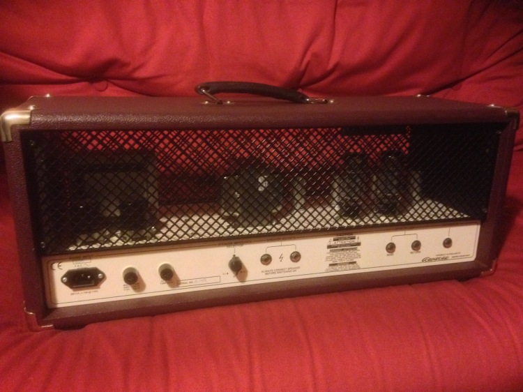 Cornford MK 50H - rear panel