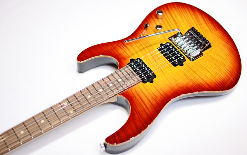 Suhr Modern upside down