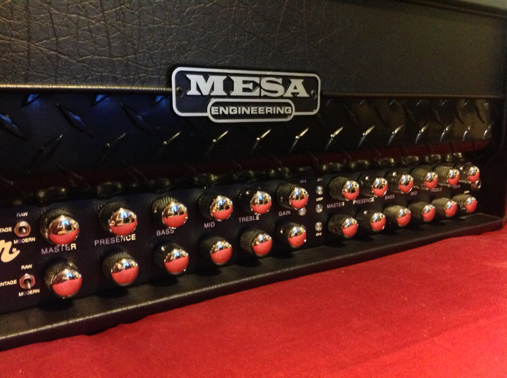 Mesa Roadster front panel