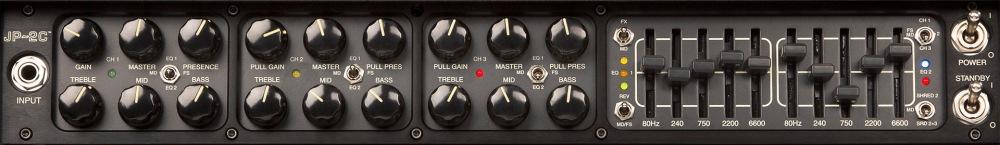 MESA/Boogie JP-2C - front panel