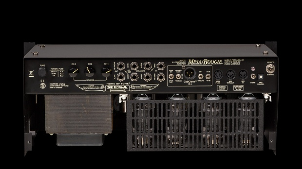 MESA/Boogie JP-2c rackmount version- rear view