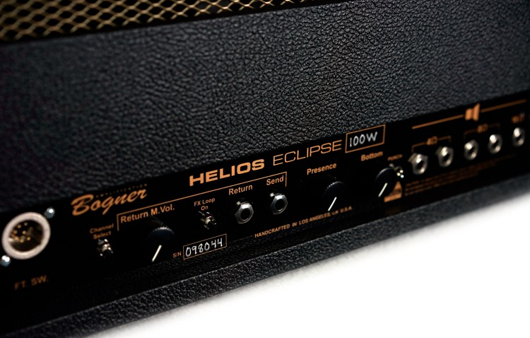 Bogner Helios Eclipse - rear detail